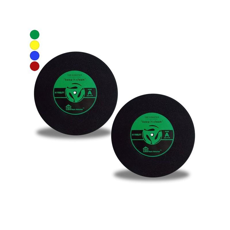 Dessous de verre disque vinyle lot 2 - Dessous de verre vinyle ...