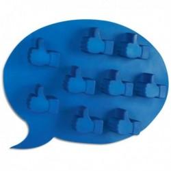 Moule à glaçon en forme de Like Facebook