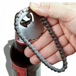 Décapsuleur chaîne de vélo en métal