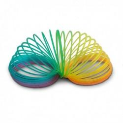 Ressort coloré en plastique
