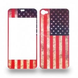 Paire de sticker iPhone 4 drapeau des États-Unis