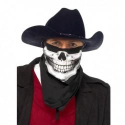 Bandana à motif squelette