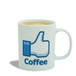 Tasse Coffee Like Facebook