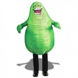 Costume gonflable de gros monstre vert