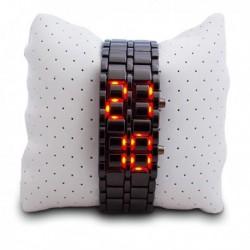 Montre LED bracelet métallique