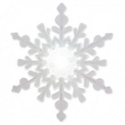 Lampe multicolore flocon de neige
