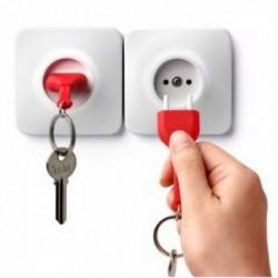 Range-clés en forme de prise électrique