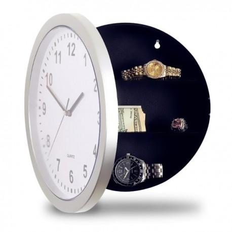 Horloge murale avec coffre-fort intégré
