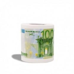Rouleau de papier toilette 100 euros