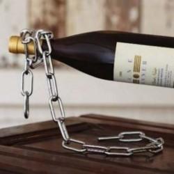 Porte-bouteille chaîne 0 gravité