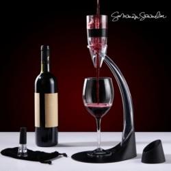 Décanteur de vin sur pied avec accessoires