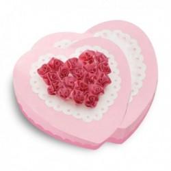 Moule à gâteau cœurs superposés