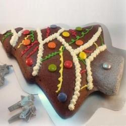 Moule pour gâteau en silicone en forme sapin de Noël