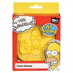 Tampon toast portrait d'Homer Simpson