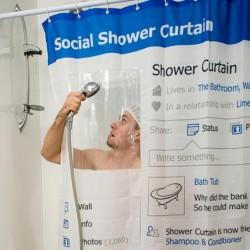 Rideau de douche page perso Facebook