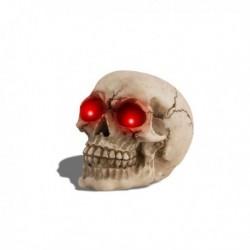 Crâne à yeux lumineux