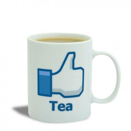 Tasse à motif Like Tea Facebook
