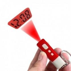Porte-clés projection de l'heure