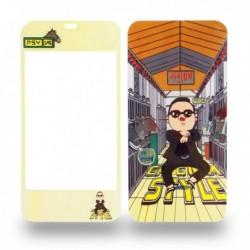 Sticker décoratif pour iPhone 4 image Gangnam Style