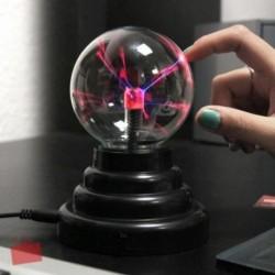 Lampe boule plasma USB