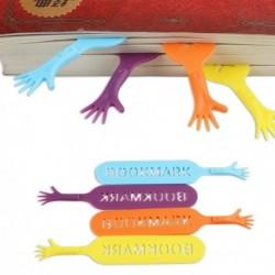 Lot de 4 marque-pages en forme de mains