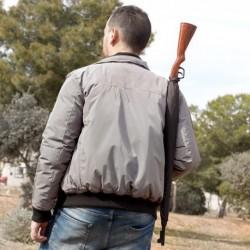 Parapluie en forme de fusil de chasse