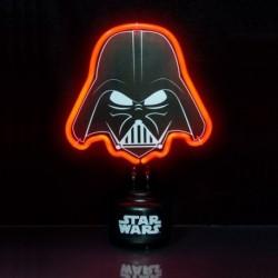 Lampe de chevet Dark Vador à néon rouge