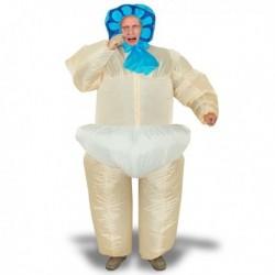 Costume gonflable bébé en couche