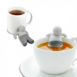 Infuseur de thé figurine relax en silicone