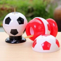 Distributeur de cure-dents ballon de foot en plastique