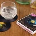 Dessous de verre disque vinyle (lot 2)
