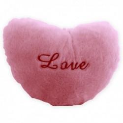 Coussin luminescent en forme de cœur