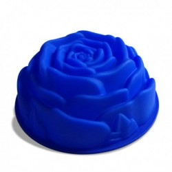 Moule silicone en forme de rose 24cm