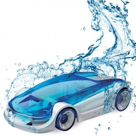 Voiture carburant à l'eau salée