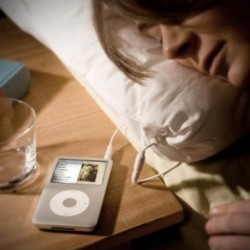 Coussin grande taille haut-parleur MP3