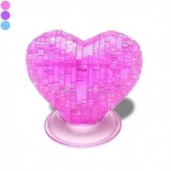 Puzzle cœur en 3D