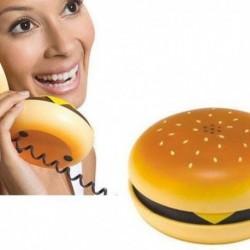 Téléphone en forme de hamburger