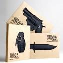 Carnet de note couverture grenade en 3D