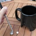 Mug noir mini-golf