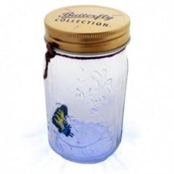 Lampe en forme de bocal à papillon magique