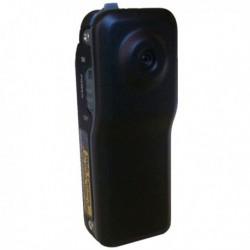 Mini-caméra noire mat en métal