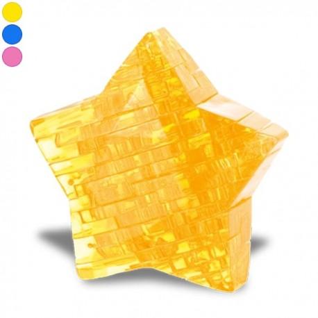 Puzzle étoile en 3D