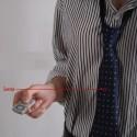 Cravate caméra espion télécommandée