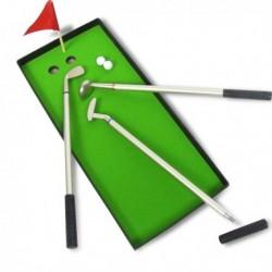 Set de 3 stylos de golf de luxe avec green