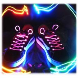 Paire de lacets à lumière LED