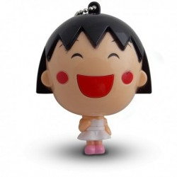 Mètre avec porte-clés en forme de jeune fille manga
