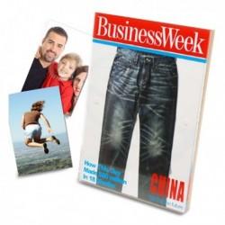 Cadre photo première page du magazine BUSINESS Week