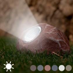 Pierre décorative lumineuse à fonctionnement solaire
