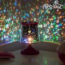 Lampe décorative à projection de ciel étoilé coloré