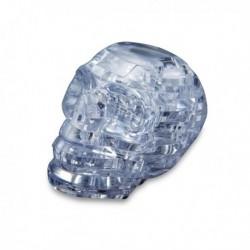 Puzzle à construire en 3D tête de mort translucide